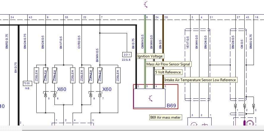how to maf  coloured wiring diagram