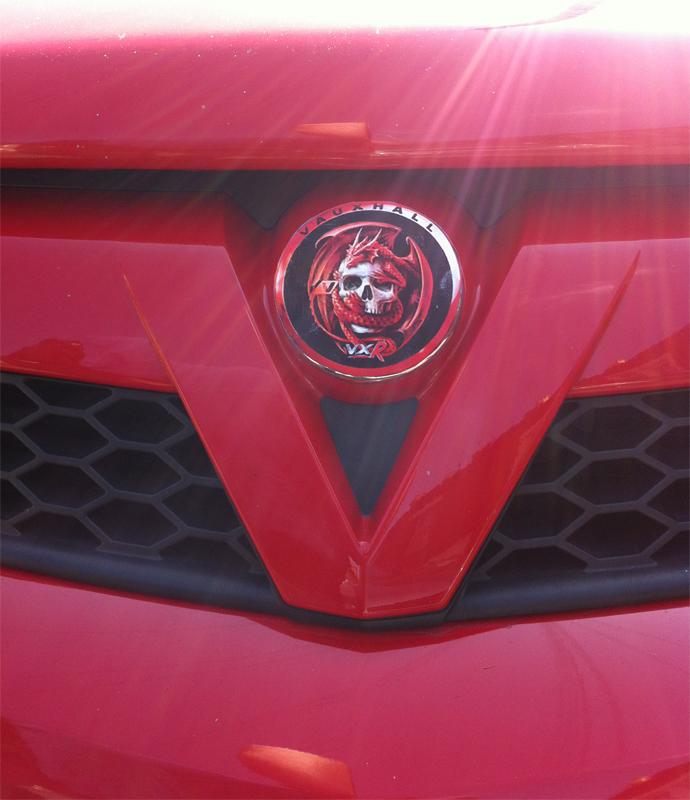 New Design For Vauxhall Badge