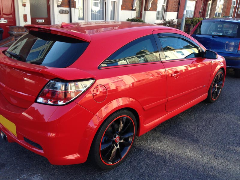 Spotted: Arden Astra VXR with second boot spoiler [Archive ...